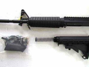 AR15 Rifle Kit 5.56 M4 16 Inch-Nitride Treated
